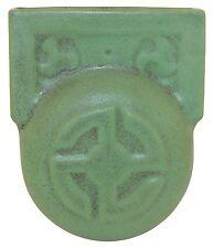 Teco Pottery Matte Green Wall Pocket (Shape 439)