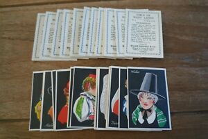 Major Drapkin - Girls Of Many Lands Cards - 1929 - VGC! Pick The Cards You Need!