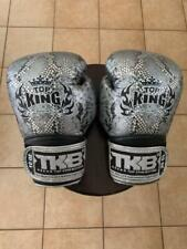 TOP KING MUAY THAI KICK BOXING GLOVES - SNAKE 10 oz.