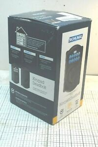 Schlage BE365 CAM 716 EZ Install Electronic Entry Keypad Deadbolt  NEW, OPEN BOX