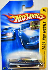 HOT WHEELS 2007 NEW MODELS 1964 FORD GALAXIE 500XL #18/36 BLUE FACTORY SEALED