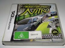Need for Speed Nitro Nintendo DS 2DS 3DS Game *Complete*