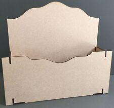 Y50B Oficina Escritorio Ordenado Post Mail carta Parcela Estante Sostenedor Pantalla Mdf Corte Láser