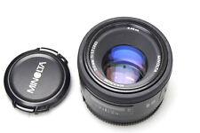 Minolta AF 50mm F1.4 f. Sony Alpha