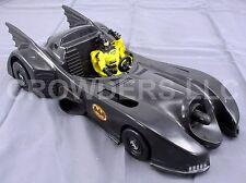 "Vintage 4.75"" Deep Dive Batman '90 Kenner w/ Yellow Cape & Batmobile '89 ToyBiz"