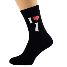 Me encanta chiahuahuas Diseño Calcetines para hombre Chihuahua propietarios calcetines UK Size 5-12 X6N082