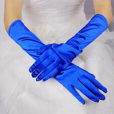 Damen Lang Handschuhe Hochzeit Braut Abendparty Kostüm Satin