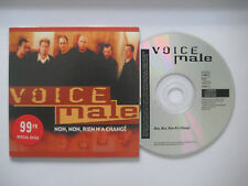 VOICE MALE Non, non, rien n'a changé 1-track CD Single * Card sleeve