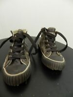 chaussures marrons montantes Trappeur pointure 27 tbe (B8)