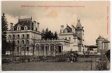 ESSOYES  Aube CPA 10 le chateau HERIOT, fondateur des grands magasins du Louvre
