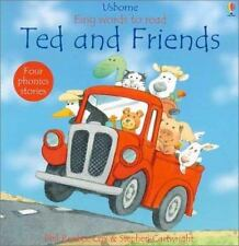 Ted and Friends (Usborne Easy Words to Read) by Phil Roxbee-Cox, Good Book