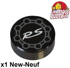Lego - 1x Tile round decorated 1x1 porsche 911 GT3 RS roue 98138pb054 42056 NEUF