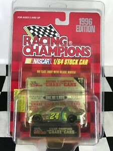 UNOPENED RC Chrome Chase Car 1:64 Jeff Gordon #24 DuPont 1996 Chevy #1026/1996