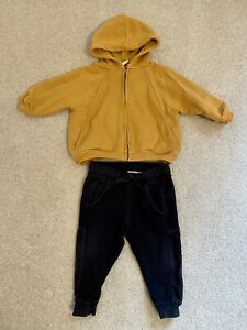 Zara Boys Clothing Bundle Hoodie Joggers Trousers Size 12-18 Months