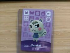 #264 Marshal Animal Crossing Amiibo Card series 3 - Mint - US / Authentic Card
