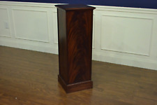 Leighton Hall Mahogany Traditional Display Pedestal
