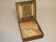 Rare Jerusalem relief map, FR Vester, American Colony Store. MAKE AN OFFER.