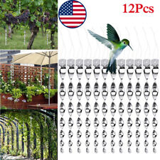 12 Pack Bird Scare Rods Hanging Reflective Pest Repellent and Deterrent Device