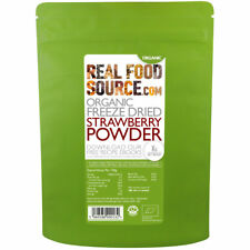 RealFoodSource - Organic Freeze Dried Strawberry Powder 100g
