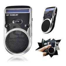 LED Speaker Solar Powered Bluetooth Handsfree Car Kit For Mobile phone Cellphone