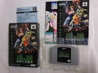 U1209 Nintendo 64 Sin and Punishment Japan N64 w/box