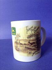 John Deere Tractor Plow 1892 Farmers Pocket Companion Cover Coffee Mug