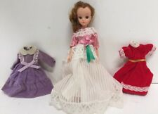 Rare Vintage Takara Licca / Lisa Doll Made In Japan for Fao Schwartz + 3 Dresses