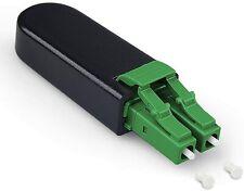 Adaptador de bucle de retorno de fibra óptica LC-Conector LC modo único 9/125 (OS2) prueba de enlaces