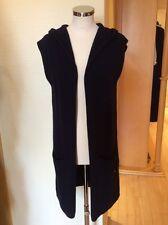 Monari Cardigan Size M BNWT Navy Sleeveless With Hood RRP £99 NOW £45
