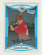 2008 Bowman Chrome Prospects #BCP171 JUSTIN TURNER RC Rookie Los Angeles Dodgers