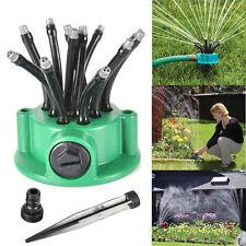 Full Circle 360°Sprinkler Head Garden Greenhouse Irrigation Self Watering Kit