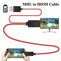 MHL Micro USB a HDMI Cavo 1080P HDTV Adattatore per cavo per Samsung Android