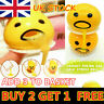 Squishy Puking Egg Yolk Stress Ball With Yellow Goop Stress Relief Kids Gift UK