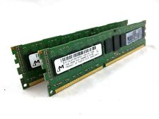 Micron MT18JSF25672PDZ-1G4D1DD 4GB (2x2GB) PC3-10600R DDR3 Server RAM