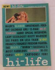 Vintage Hi-Life Mens Magazine Vol 4 No 6 1962 Dorothy Finnigan BB