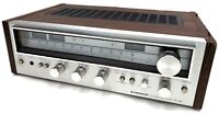 Vintage 1970's Pioneer SX-580 Silver Face AM/FM Stereo Receiver For Parts/Repair