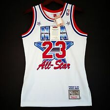 100% Authentic Michael Jordan Mitchell Ness 91 NBA All Star Jersey Size 36 S