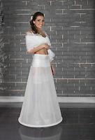Womens Ladies Wedding Bridal Petticoat Dress Underskirt Crinoline Skirt UK S-5XL