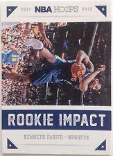 Kenneth Faried Nuggets Basketball Club #7 Panini 2011-2012 Original 9 Single