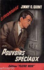 Pouvoirs spéciaux // Jimmy G. QUINT //  Fleuve Noir - Espionnage // 1ère Edition