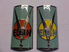 Elgin Bike Badge Head Tube Emblem Mfg. Bicycle Plate