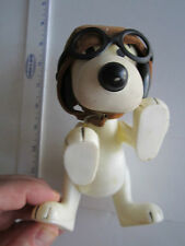 """1966 SNOOPY DOLL TOY WITH FLYING HAT - RARE - 7"""" TALL - TUB RY"""