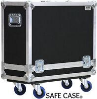 "ATA Safe Case Orange PPC 212 2x12 Speaker Cabinet Road Case 1/4"" Ply"