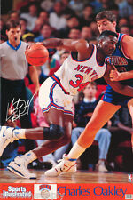 POSTER : NBA BASKETBALL : CHARLES OAKLEY - NY KNICKS  - FREE SHIP - #7414  RW6 D