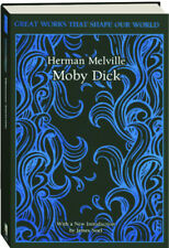 Great Works That Shape Our World: Moby Dick by Herman Melville (Hardcover) NEW