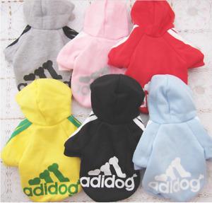 Small Puppy Dog winter warm apparel Sweatshirt Clothes hoodie