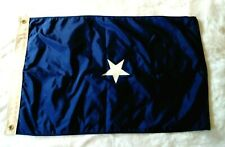 Vintage Us Navy Official 1 Star Rear Admiral Flag Eligible for Command at Sea