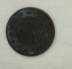 1858 Canadian Large Cent First Year