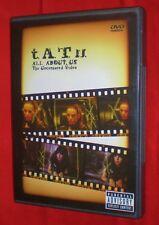 RARE OOP DVD TATU t.A.T.u. Uncensored Single Video DVD All About Us LGBT Interst