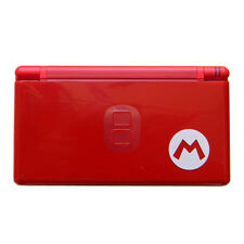 New Nintendo DS Lite Red Mario Handheld System Console and free protect films